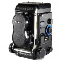 Mamiya C330 Professional S with Sekor 80mm Blue Dot 6x6 Medium Format Film TTL