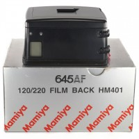 Mamiya film back 120/220 HM402 for 645AF 645AFD II III / Boxed